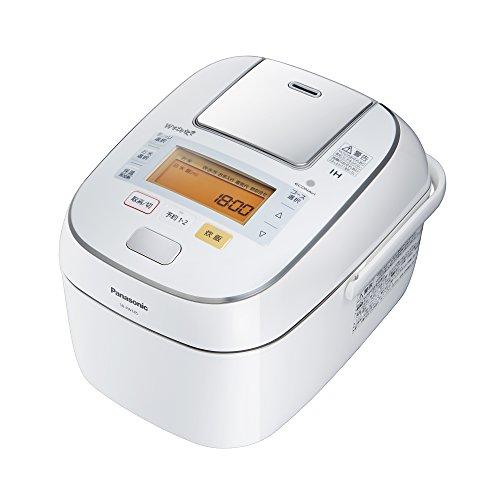 パナソニック 1升 炊飯器 圧力IH式 Wおどり炊き ホワイト SR-PW185-W