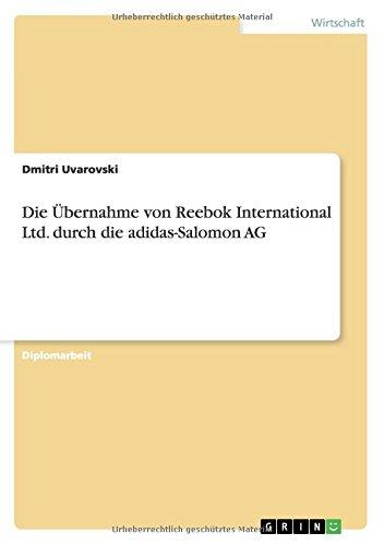 Die Ubernahme Von Reebok Inter...