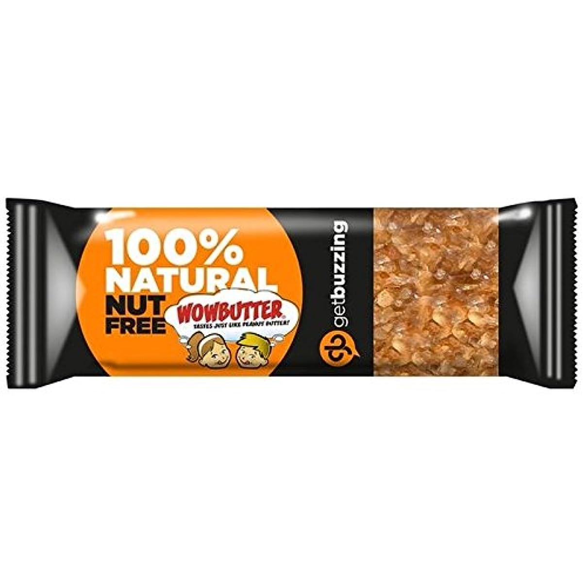 前にスピーチハンディGetbuzzingナット無料Wowbutterバー62グラム (x 4) - Getbuzzing Nut Free Wowbutter Bar 62g (Pack of 4) [並行輸入品]