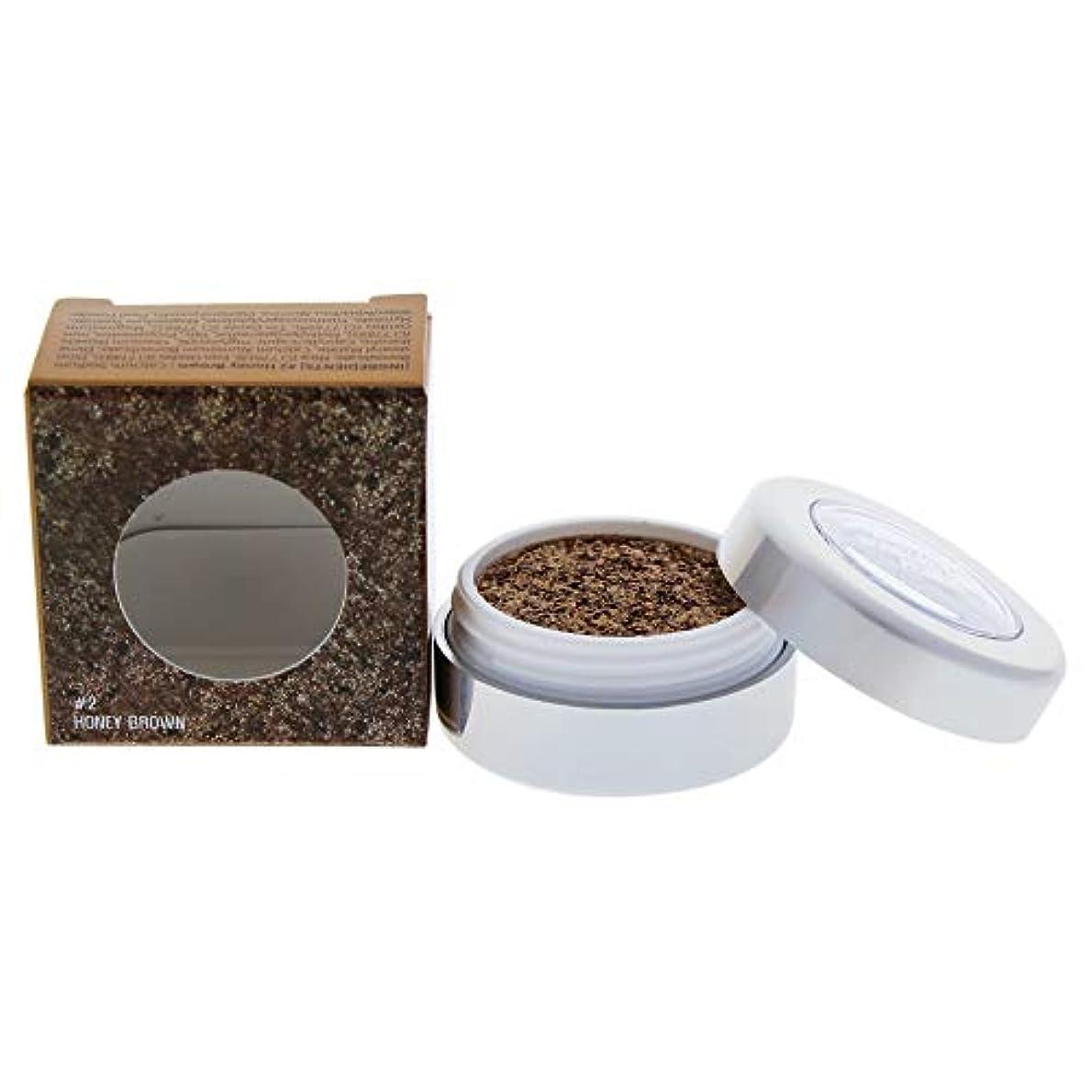 追放説得力のある突き出すMetallist Sparkling Foiled Pigment - 02 Honey Brown