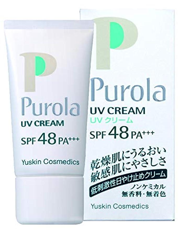 警官付添人負担プローラ UVクリーム 30g SPF48 PA+++ (敏感肌用 日焼け止め)