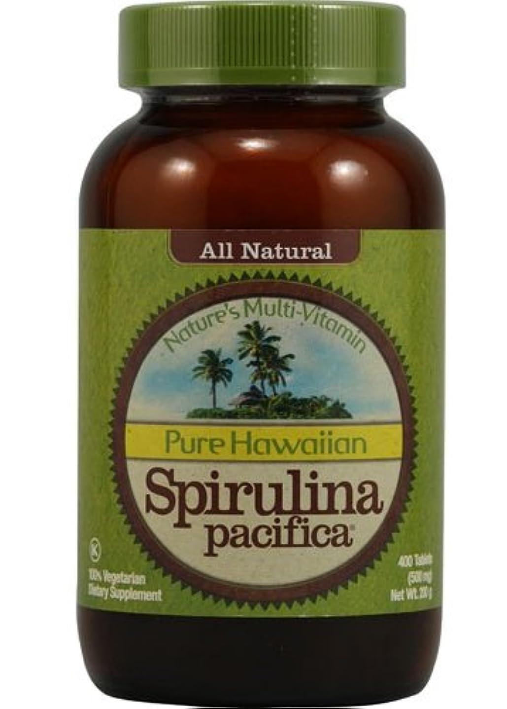 疾患許可旅行者【特用サイズ】Nutrex Hawaiian Organic Spirulina (400tabs) -ハワイアンスピルリナ- [海外直送品]