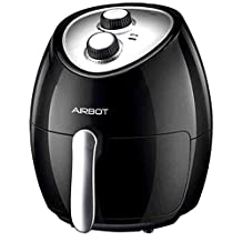 Airbot Air Fryer Deep Fryer Cooker Pod Non-Stick Timer Compatible with Rice Cooker Microwave Oven Roast Grill Baker 3L