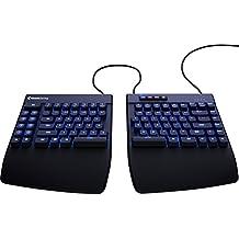 Freestyle Edge Split Gaming Keyboard Black