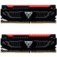 PATRIOT パトリオット デスクトップ用メモリ Viper Red LED シリーズ DDR4 16GB (2 x 8GB) 3000MHz Kit PVLR416G300C5K