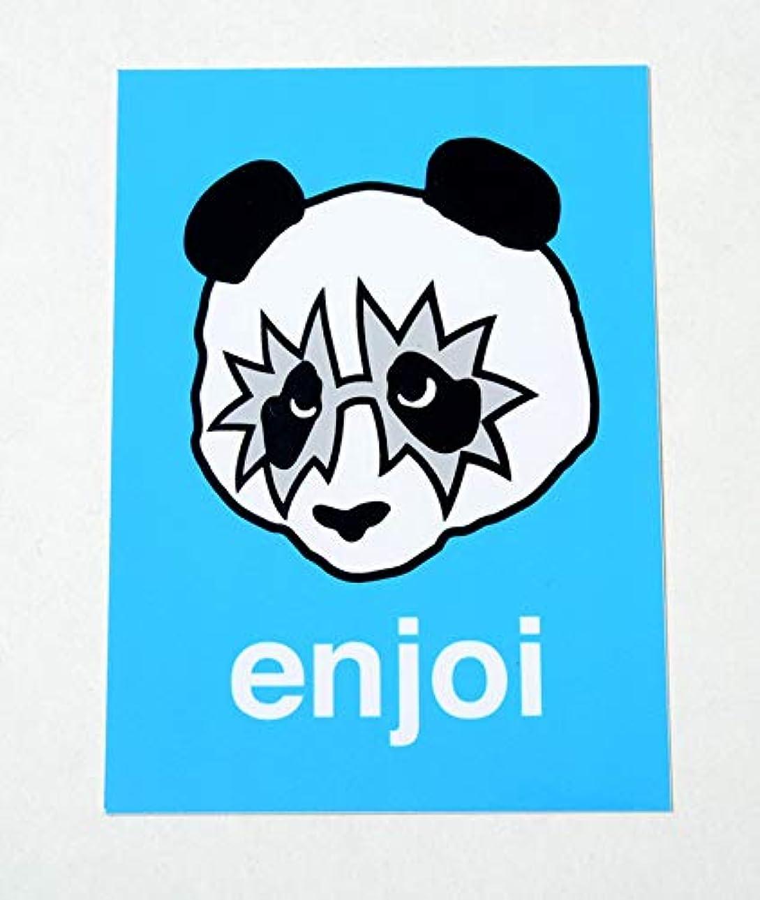 カンガルー買う書誌enjoi sticker エンジョイ ステッカー KISS BLUE ブルー