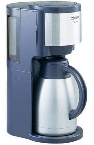 象印 コーヒーメーカー珈琲通  2~8杯用 ダークグレー EC-JS80-HW