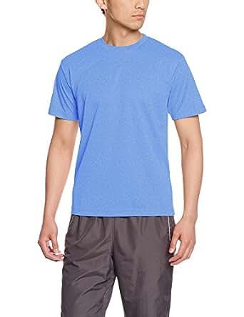 [グリマー] 半袖 4.4oz ドライTシャツ (クルーネック) 00300-ACT ミックスブルー 120cm (日本サイズ120相当)