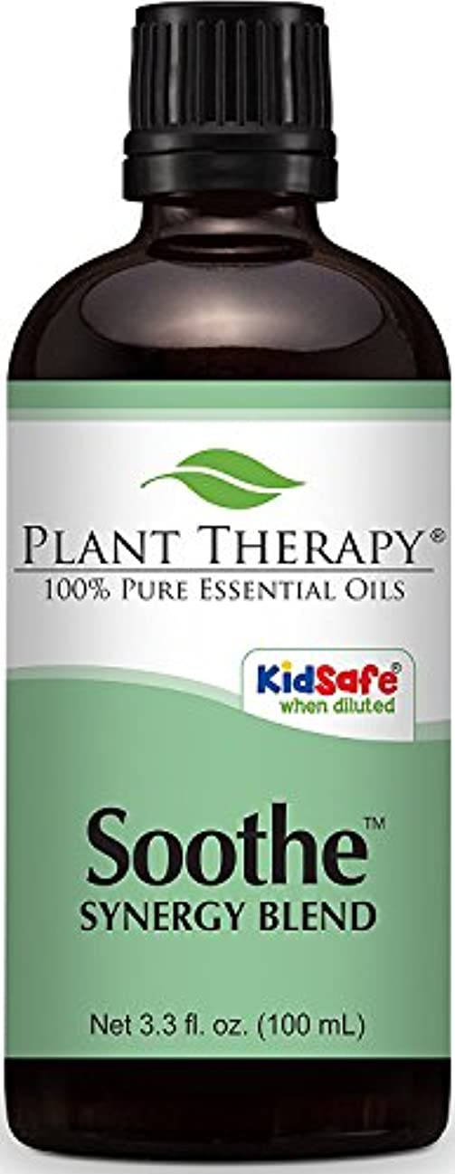 マナー仲間相談するPlant Therapy Soothe (Anti Eczema) Synergy Essential Oil Blend. 100 ml (1 oz). 100% Pure, Undiluted, Therapeutic...