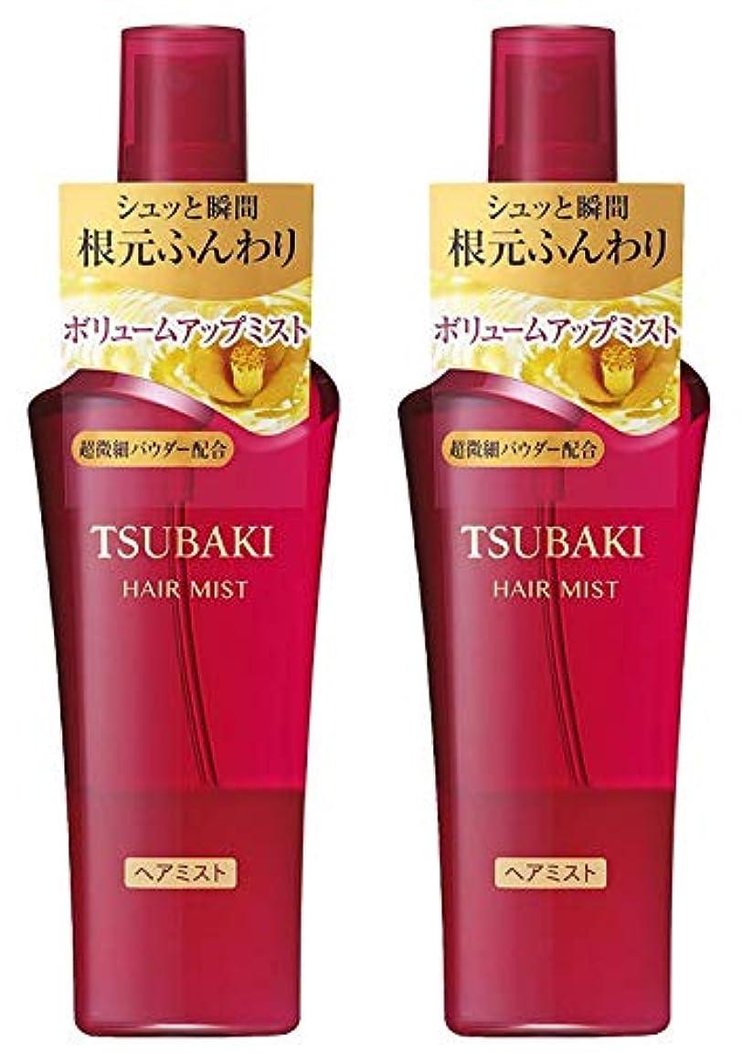 安定立方体後【2個セット】TSUBAKI ボリュームアップミスト ヘアトリートメント 120ml×2個