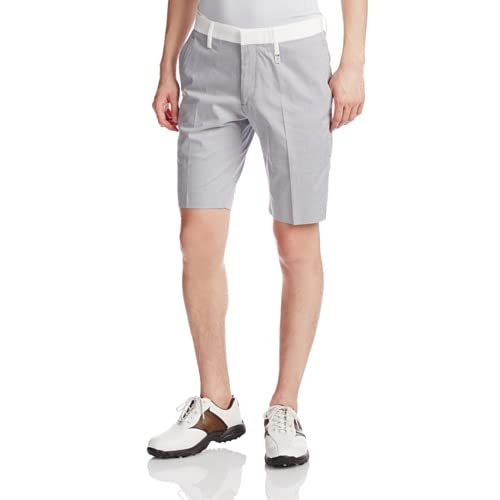 (ライルアンドスコットクラブ)LYLE&SCOTT CLUB JPN Houndstooth shorts LC-14S-SPT01  GREY L
