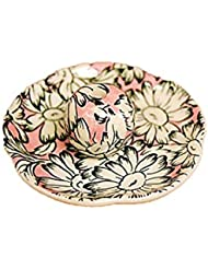 マーガレットピンク 花形香皿 お香立て お香たて 日本製 ACSWEBSHOPオリジナル