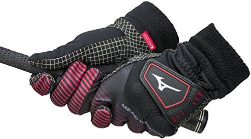 MIZUNO(ミズノ) サーマグリップ 手袋 ブレスサーモ 5MJMB55209 09(ブラック) L(25-26cm)