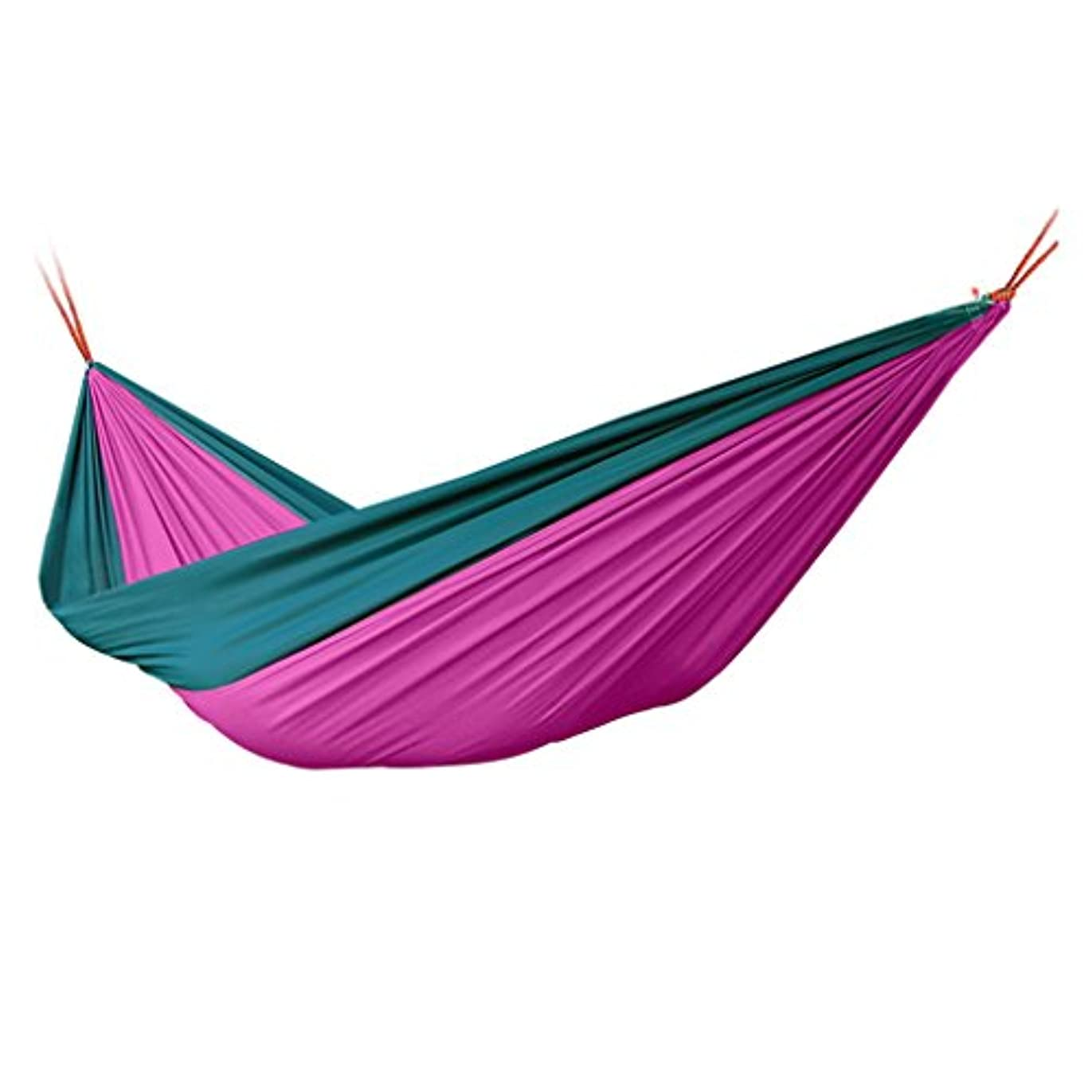乳白困惑変形する屋内と屋外ポータブルハンモックハンモック紫レジャーガーデンハンモック (Size : 90cm/35.4inch)