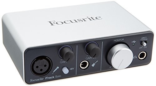Focusrite iTrack Solo iPad / Mac / PC USBオーディオインターフェイス