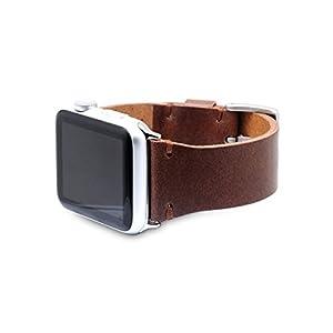 SLG Design Apple Watch 42mm 44mm用 バンド 本革 ブッテーロレザー ブラウン アップルウォッチ ベルト series1 series2 series3 series4対応【日本正規代理店品】