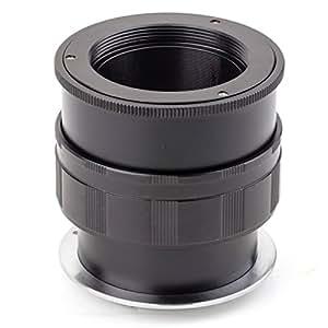 (バシュポ) Pixco ヘリコイド付きマウントアダプターM42レンズ-Canon EOS Mカメラ対応 「M42-EOS M」