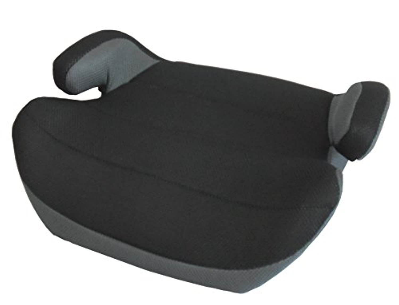JTC ジュニアブースターシート グレー 通気性の良いメッシュのジュニアシート