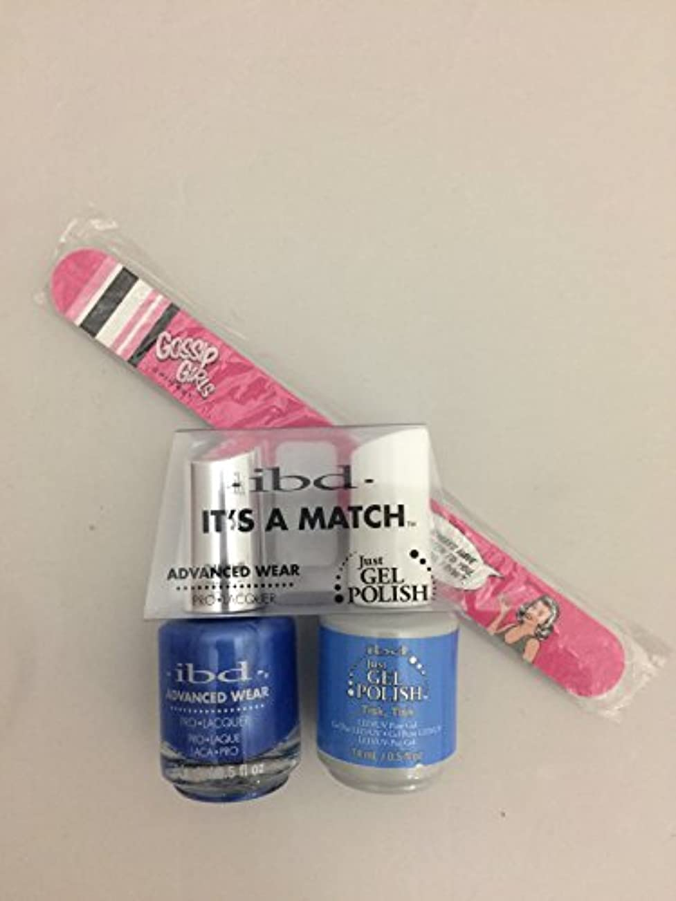 逃げる欠伸最初はibd - It's A Match -Duo Pack- Imperial Affairs Collection - Tisk, Tisk - 14 mL / 0.5 oz Each