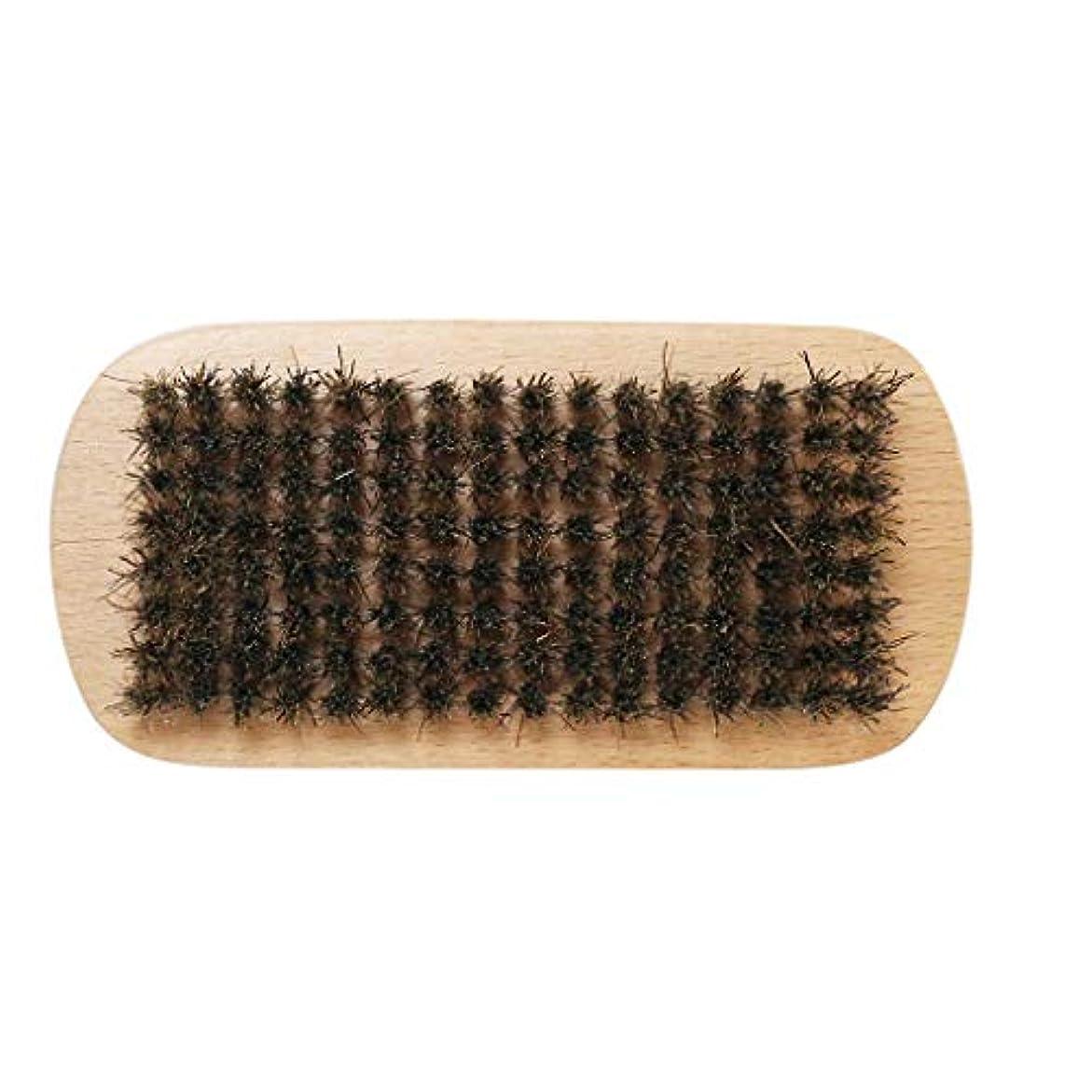 十代スーダンピグマリオンVertily の メイクアップ ショップ 男性 ひげブラシ イノシシの毛 毛のひげ 堅い楕円形 木製 男性 ブラシ 口ひげコンディショニングのスタイリングとメンテナンスのためのフェイシャルヘアコーム 黄