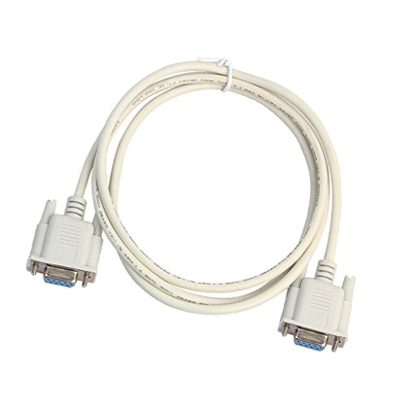 砦対立ボランティアDolity DB9 RS232 PVC RS232 メス→メス DB9 HDMI アダプタ ケーブル シリアル ポート ケーブル アクセサリー 部品 全3サイズ - 1.5M