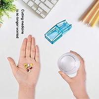 ピルスプリッタピルカッターは薬を保存することができます、薬のポータブルとポータブルV字型クランプをカットすることができます