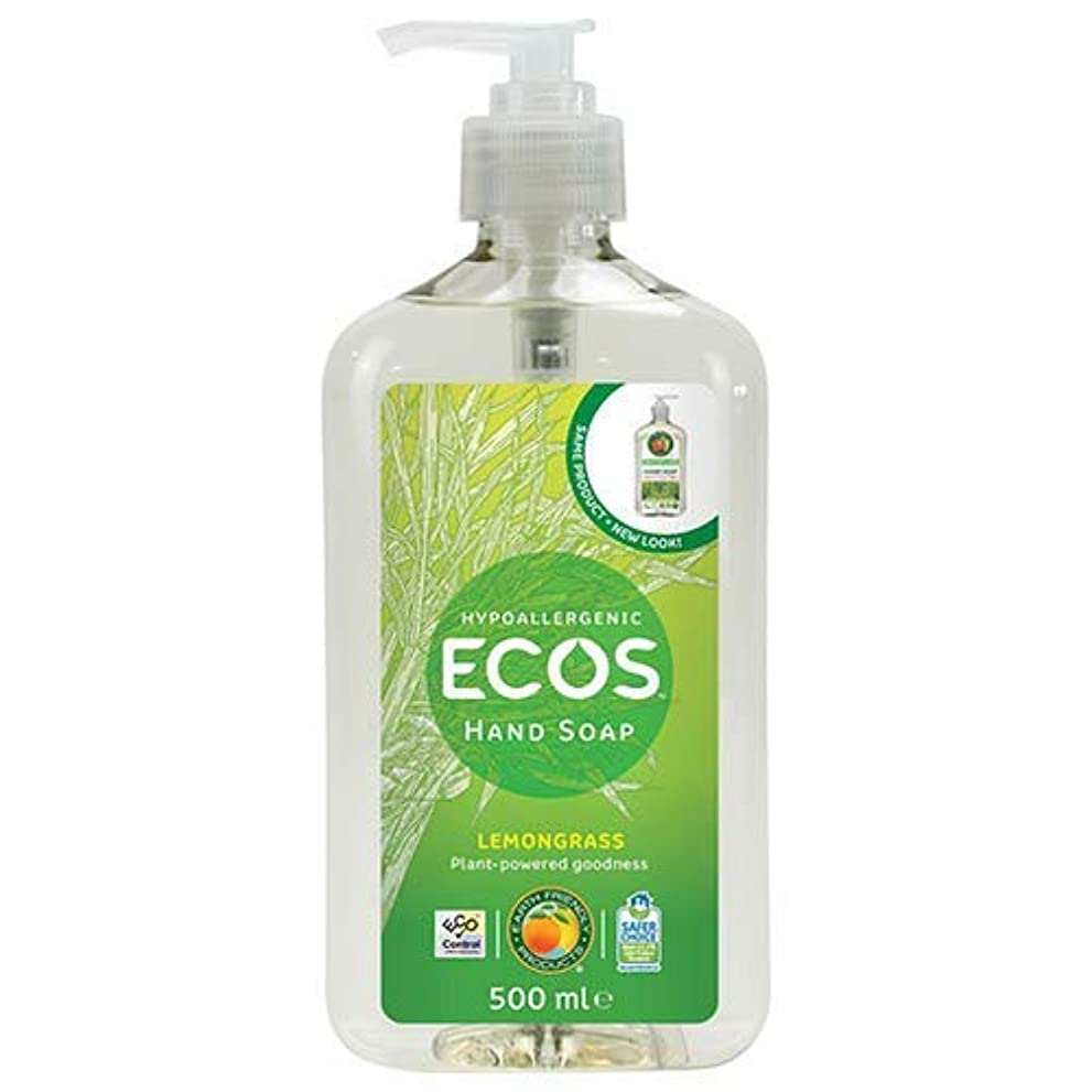 悪質な起訴する軸Earth Friendly Products Hand Soap Lemongrass 500ml / ?????????????????????500??????