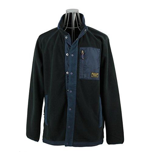 【アウトレット】 バートン BURTON S M ジャケット Jacket フリースジャケット DRYRIDE THERMEX ブラック [並行輸入品]