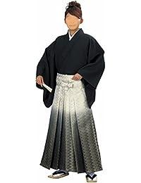 【日本製】ぼかし 金襴袴 (ao5499)[馬乗り型]  舞踊袴 はかま 袴 着物 きもの 成人式