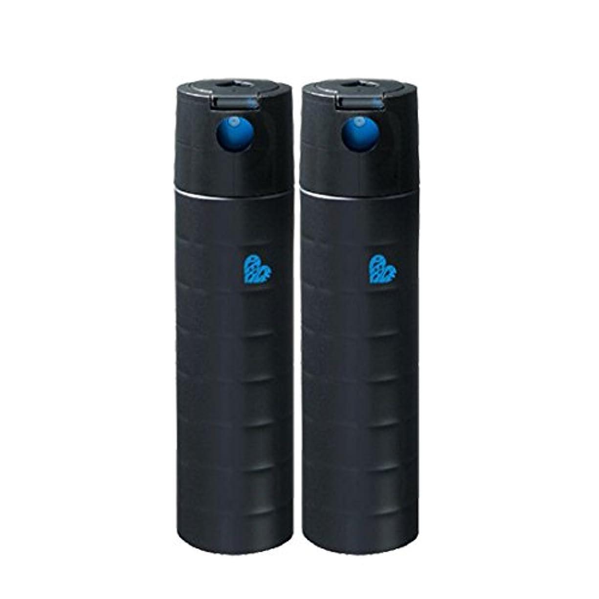 フック年次電話【X2個セット】 アリミノ ピース フリーズキープspray ブラック 140g 200ml