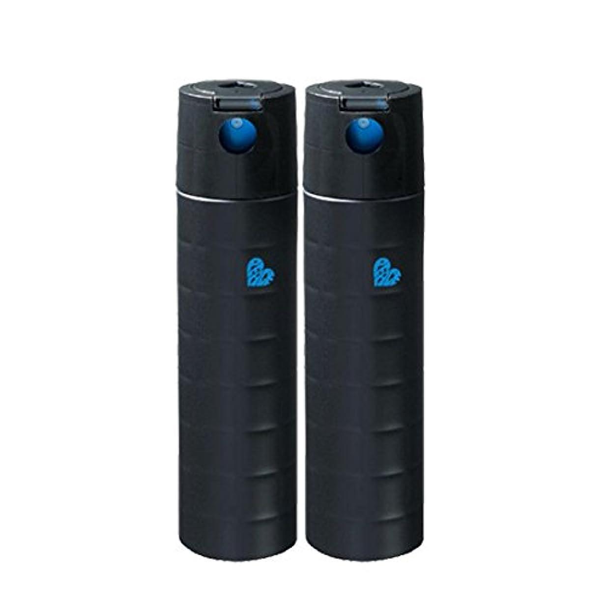 気づかないポテト私たちの【X2個セット】 アリミノ ピース フリーズキープspray ブラック 140g 200ml