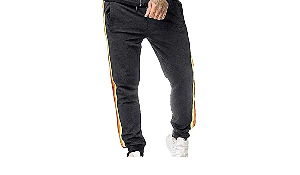 Keaac Mens Casual Joggers Sweatpants Long Track Pants