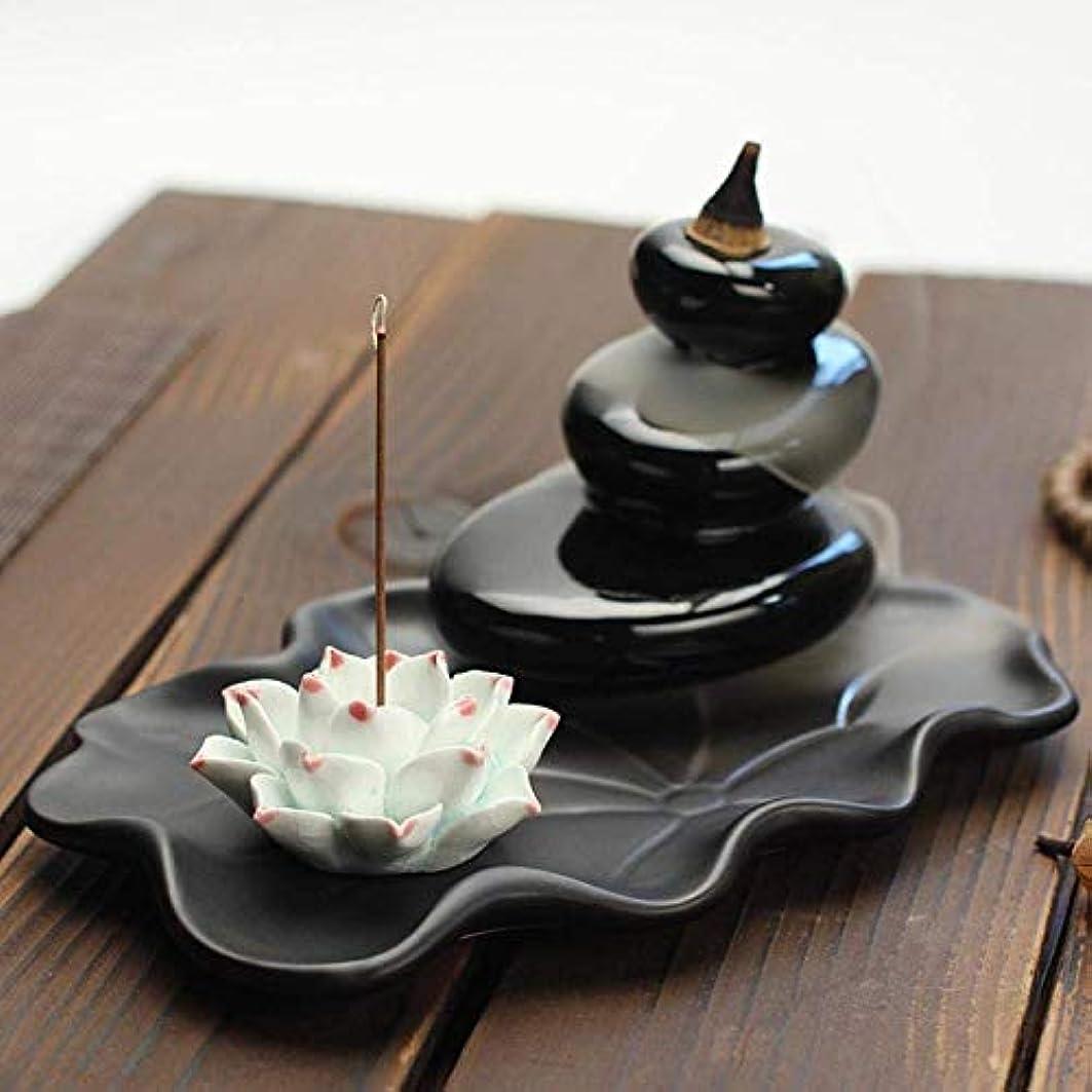 細いひどいかろうじてデコレーション香炉、逆流香ホルダー香コーン香炉香スティックホルダー家の装飾手芸ギフト