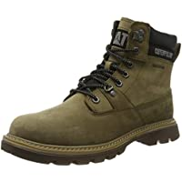 Caterpillar Mens Ryman Mid Waterproof Boots in Olive