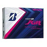 BRIDGESTONE(ブリヂストン) ゴルフボール TOUR B JGR 1ダース(12個入り) パールピンク 8JPX