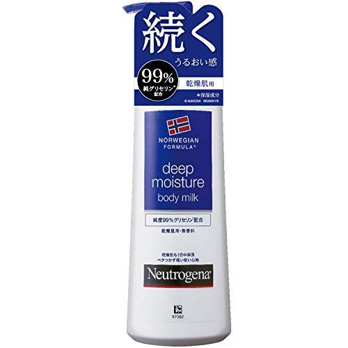 Neutrogena(ニュートロジーナ) ノルウェーフォーミュラ ディープモイスチャー ボディミルク 乾燥肌用 無香料 250ml