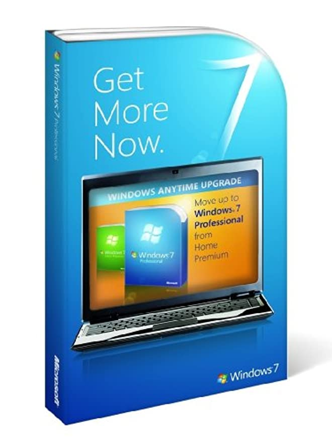 家庭教師それに応じて深めるWindows 7 StepUpgrade Home Premium to Professional 英語版 アップグレード