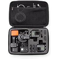 Amazonベーシック カメラケース GoPro キャリングケース Lサイズ ブラック