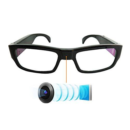 YAOAWE超小型カメラ無孔スパイカメラHD 1080Pメガネ型隠しカメラ