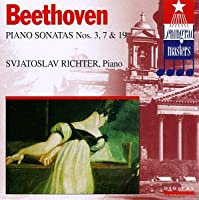 Beethoven;Piano Sons.3,7,19