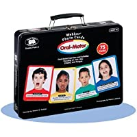 Webber Oral-Motor Photo Card Deck - Super Duper Educational Learning Toy for Kids [並行輸入品]