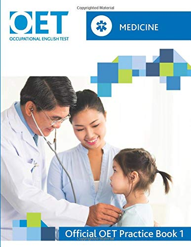 Download OET Medicine: Official OET Practice Book 1: For tests from 31 August 2019 109492217X
