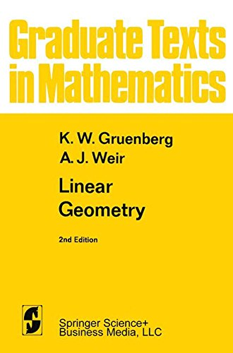 Linear Geometry (Graduate Text...