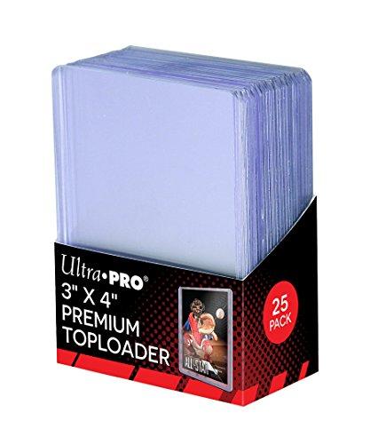 ウルトラプロ トップローダー ホルダー プレミアム (オールクリアー) BOX (25枚入り)