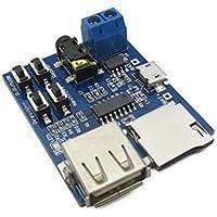 2個ロットwith電源アンプTFカードUディスクmp3デコーダPlayer mp3デコードモジュールボード