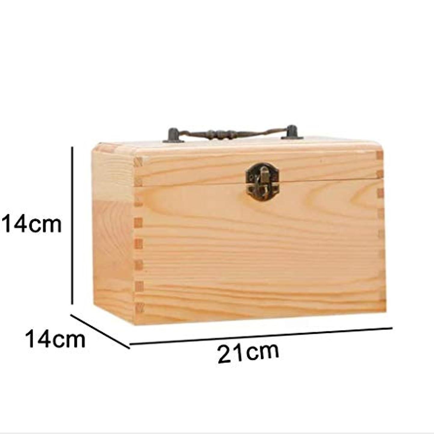 不快コイン戦闘家庭用木製薬箱ポータブル木製医療箱エレガントなレトロジュエリー収納ボックス、大容量、家族、バスルーム、オフィスに適しています