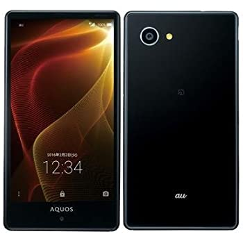 SHARP au AQUOS SERIE mini SHV33 ブラック