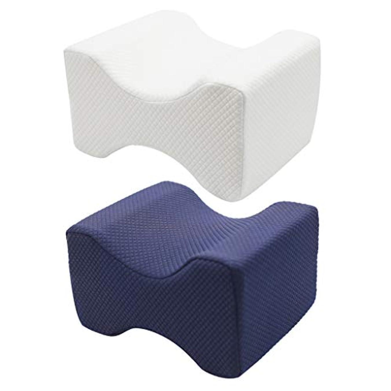 ゲスト複雑なカバレッジSharrring記憶枕 肩こり対策 まくら 低反発枕、快眠枕 首?頭?肩 頸椎サポート 頭痛改善 ストレートネック矯正マクラ (白)