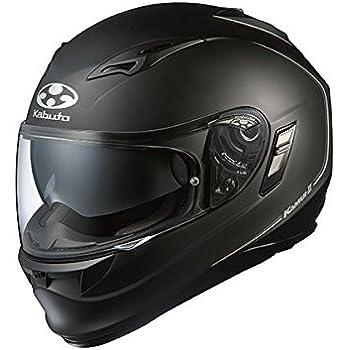 オージーケーカブト(OGK KABUTO) バイクヘルメット フルフェイス KAMUI2 フラットブラック L (頭囲 59cm~60cm)