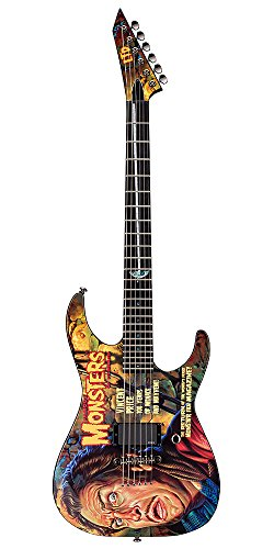 ESP Graphic Series LTD - Famous Monsters Vincent Price G エレキギター エレクトリックギター (並行輸入)